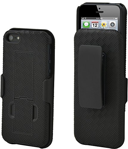 Apple Combo (Aduro Shell Holster Combo Case for Apple iPhone SE / 5 / 5S with Kick-Stand & Belt Clip (At&t, Verizon, T-Mobile & Sprint))