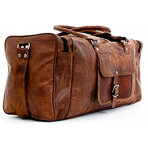 6056ac47c7 HSS pick for a stylish leather duffle bag  the Ghurka Cavalier II.