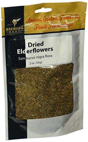 (Dried Elderflowers - 2oz.)