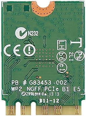 Intel 7260NGW Dual Band Wireless-AC 7260 802 11ac, Dual Band, 2x2 Wi-Fi and  Bluetooth 4 0