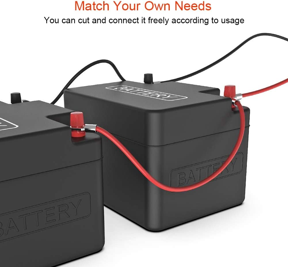 Duokon Cavo della batteria positivo Batteria positiva Blow Off Cavo conduttore Plus Poli Cavo positivo per batteria auto 61129217033 61129151347 ABS