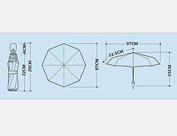 Amazon.com : OLYCAT New Brand Quality Folding Full Automatic Women Umbrella Sun Rain Windproof Anti UV Paraguas Girls Guarda Chuva Female Gift (White) ...