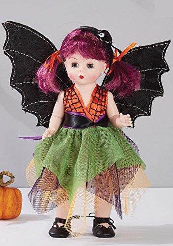 "HALLOWEEN DOLL 72930 Madame Alexander Boo-tifully Batty 2017 Halloween 8"" Includes wings and headband"
