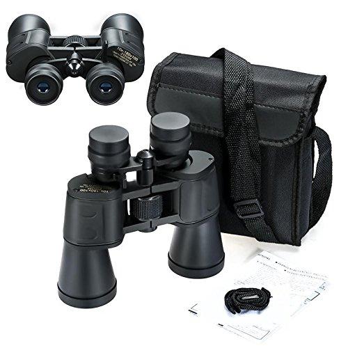LIPOVOLT US SHIP Outdoor 7-20x Telescope Travel Binoculars Hunt + Case