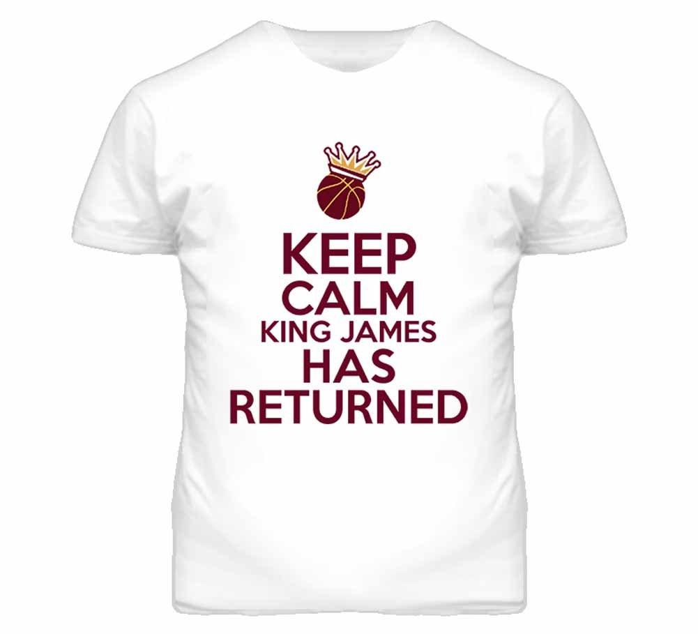 Tshirt Bandits S Keep Calm The King Is Back T Shirt