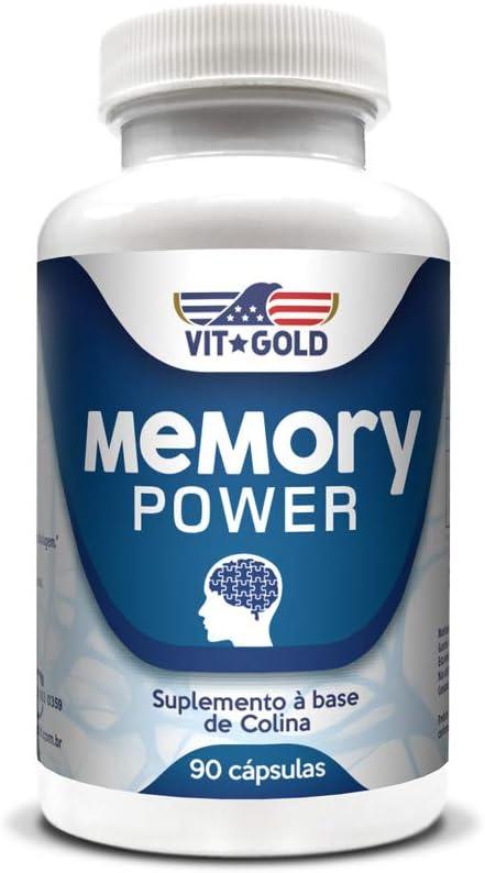 Memory Power (suplemento para memória) Vitgold 90 cápsulas por Vitgold