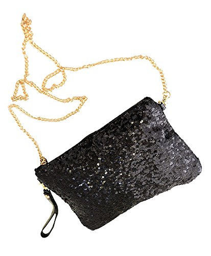 Sequined Clutch Purse - 9
