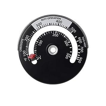 Termómetro Estufa De Leña, Termómetro Magnético Para Horno De ...