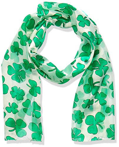 Beistle 30710 Shamrock Scarf, 10-Inch by 4-Feet 7-Inch