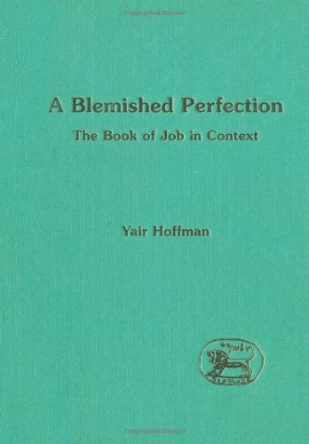 A Blemished Perfection: Book of Job in Context (JSOT Supplement)