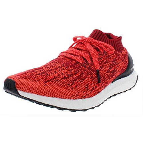 adidas Mens Ultraboost Uncaged Primeknit Workout Running Shoes Red 13 Medium (D)