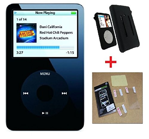 YDWM-BEST For Apple iPod Classic Video 5th Generation 30GB MP3 Player Black-BEST Apple Ipod Video 30gb Accessory