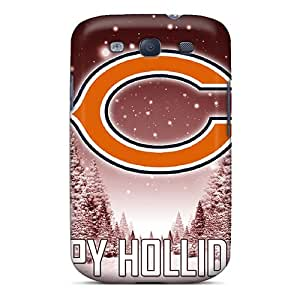 Perfect Hard Phone Cover For Samsung Galaxy S3 (Ifi18477FYxw) Provide Private Custom Attractive Chicago Bears Skin