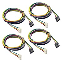 RepRapChampion 4 PCS x Stepper Motor Cables 1 Meter Long for NEMA 17 used in Reprap 3D Printers CNC Machines by NAMO SHOP