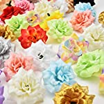Fake-flower-heads-in-bulk-wholesale-for-Crafts-Peony-Daisy-Artificial-Flower-Home-Party-Decoration-Scrapbooking-Accessories-Wreath-DIY-Head-Craft-Fake-Flowers-Decor-30PCs-45cm-Colorful