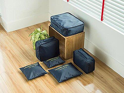 Set Marina Bag Custodia per da viaggio Tukistore da Militare da viaggio 6Pcs Custodia Tidy viaggio organizer viaggio Custodia Custodia da Abbigliamento 50xgSgwHq
