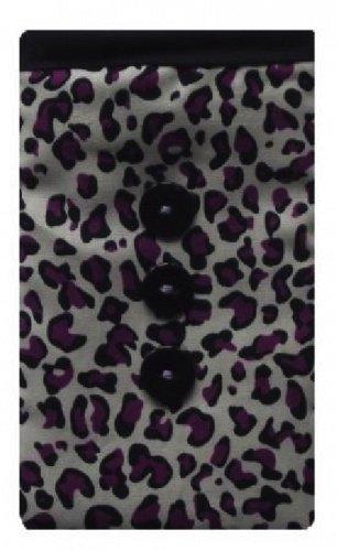 Animal Print Apple iPhone SE Socke lila / Case / Cover