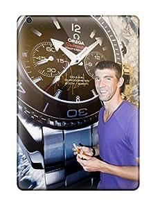 Premium Tpu Michael Phelps Poster Cover Skin For Ipad Air