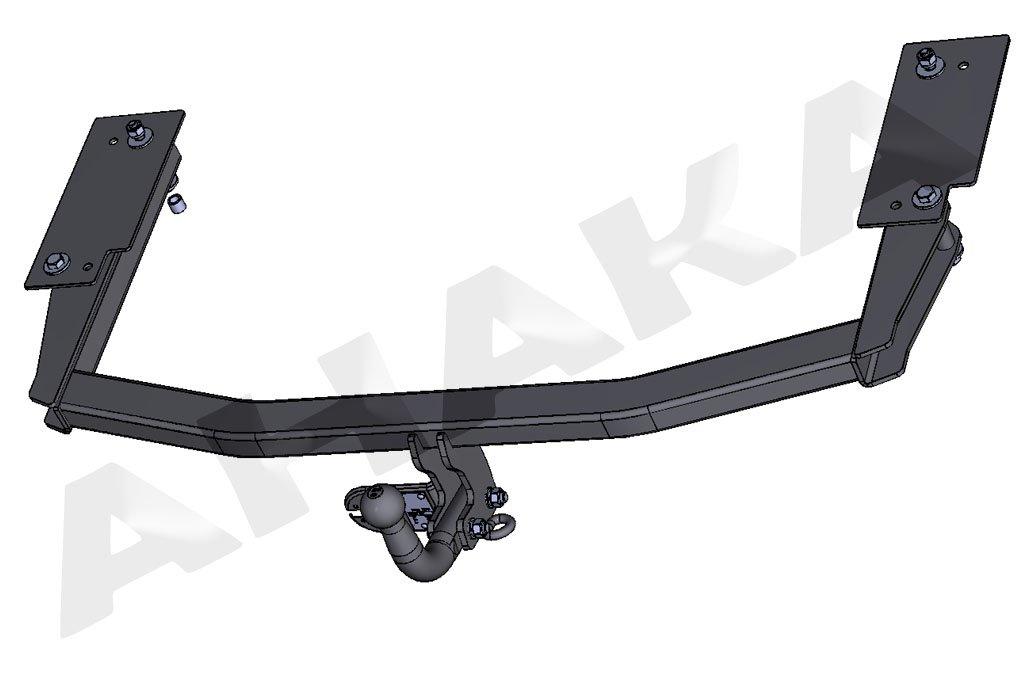 Spurtar Universal European 12V 13 Pin Towing Plug Plastic for Trailer Caravan Car Tow Conversion