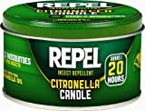 Repel 64090 10-Ounce Citronella Insect Repellent Outdoor Candle