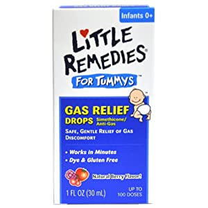 Little Remedies Little Remedies Little Tummys Gas Relief Drops Natural Berry Flavor