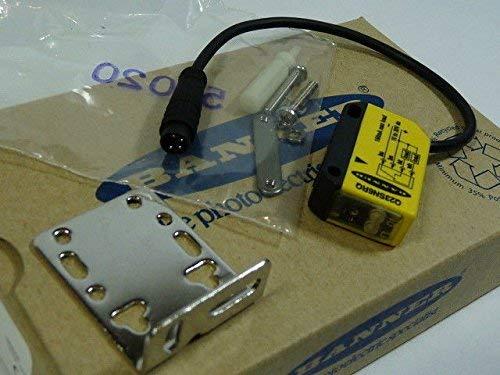 Banner Q23SN6RQ Receiver 8m Range 10-30VDC Input Quick Disconnect