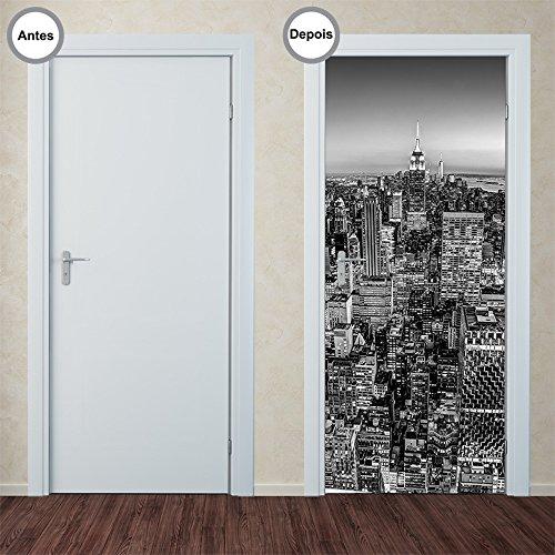 Adesivo Decorativo de Porta - New York - 274pt