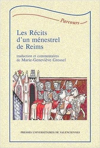 Livres Récits d'un ménestrel de Reims pdf, epub