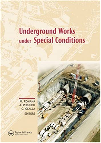 Underground Works under Special Conditions: Proceedings of the ISRM Workshop W1, Madrid, Spain, 6-7 July 2007 (Balkema-Proceedings and Monographs in Engineering, Water an)