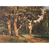 Oil Painting  Yang Taiyang,The Woods,20th Century  Printing On High Quality Polyster Canvas , 24x32 Inch / 61x81...