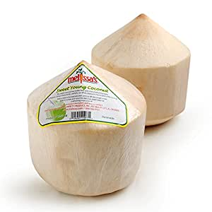 Melissa's Fresh Young Coconuts, Set of 3