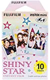 Instax Mini Shiny Star 10pk Film Suitable for Instax Mini Cameras Including 7S,25, 50S, 8, 70 & 90, Also Share Printer…