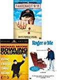 Fahrenheit 9/11/ Bowling for Columbine / Roger and Me (3 Pack) by Michael Moore II