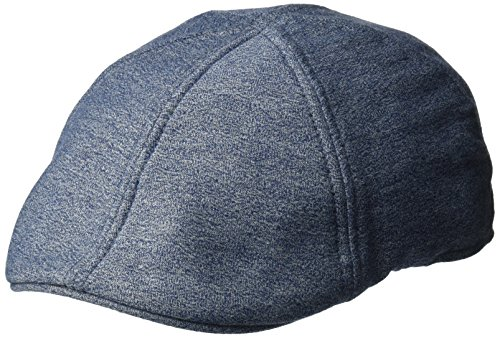 Canvas Newsboy Cap - Levi's Men's Canvas Ivy Hat, Navy, Large/XLarge