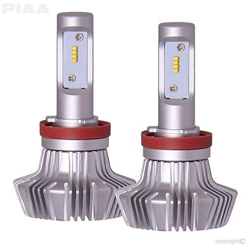 affordable PIAA 26-17311 H11 Platinum LED Bulb Kit-4000Lm, White 6000K, 25W-2 Yr Warranty