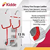 Kidde 468193 KL-2S, 2 Story Fire Escape Ladder with