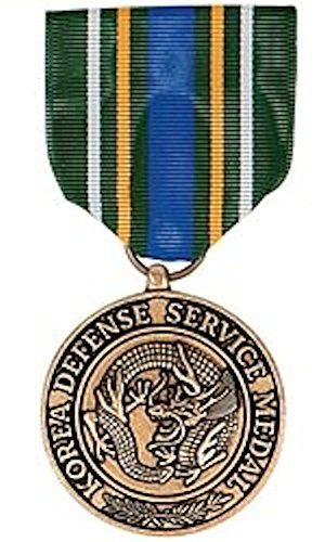 Mini Defense Medal - Korean Defense Medal-MEDAL