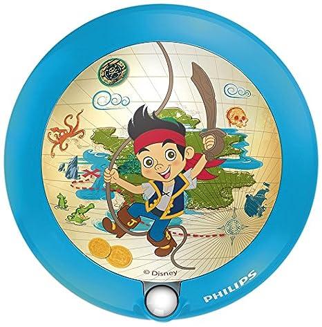 Philips Luz Nocturna con Sensor 717650516, Azul