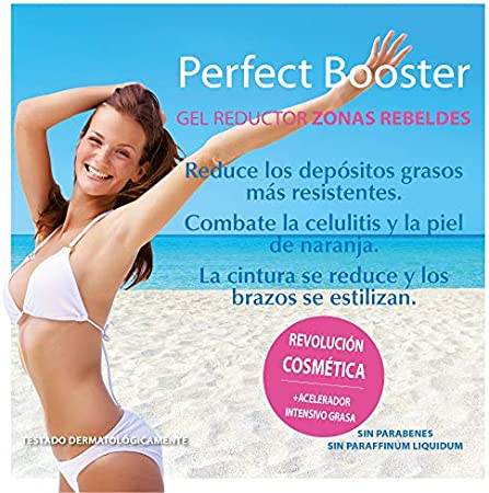 Yacel Perfect Booster, Gel Reductor Zonas Rebeldes y Combate Celulitis, 150 Mililitros