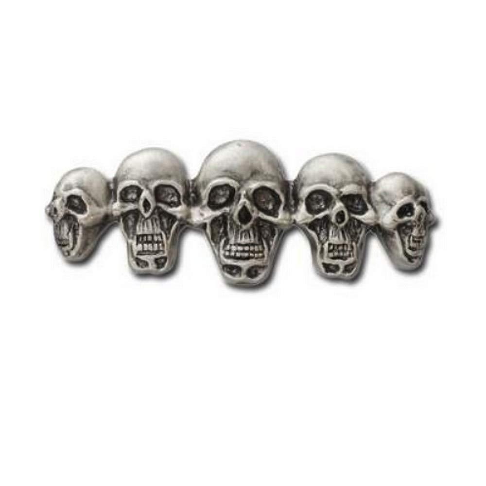 Hells-Design Anstecknadel Skulls Totenkopf AMT CUSTOM