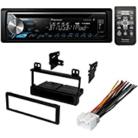 CAR STEREO RECEIVER CD PLAYER DASH KIT INSTALLATION W/ WIRE HARNESS FOR SELECT FORD LINCOLN MERCURY VEHICLES
