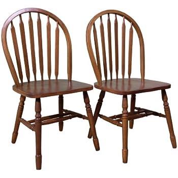 Genial TMS Arrowback Chair (Set Of 2), Oak