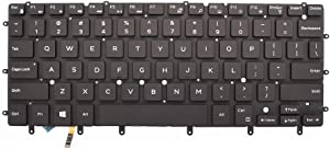 New Replacement Keyboard Compatible with Dell XPS 13 9343 13 9350 15 7547 7548 Inspiron 13 7000 13-7347 13-7348 13-7352 13-7353 13-7359 US Backlit 0DKDXH NSK-LS0BW DKDXH