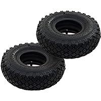 yorten Neumáticos con Cámaras Internas Carretilla 2 uds