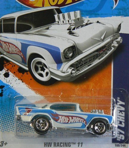 2011 Hot Wheels '57 Chevy Weiß  160/244 by Hot Wheels