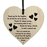 Oldeagle Creative Wooden Hanging Gift Plaque Pendant Family Friendship Love Sign Wine Tags Decor