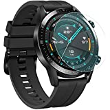 [2-Pack] for Huawei Watch GT2 46mm Screen Protector, Explosion-Proof Anti Scratch Resistance Full Cover Clear Screen Protecto