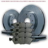 2008 08 2009 09 2010 10 2011 11 Ford F250 SD 2WD (Front+Rear Rotors + Semi-Met Pads)