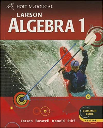 Amazon.com: Holt McDougal Larson: Algebra 1, Common Core Edition ...