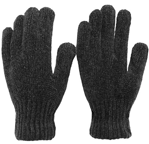 Chenille Winter Magic Gloves (Black) (Winter Chenille)